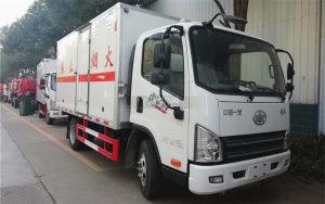 解放虎V国六易燃气体厢式运输车图片