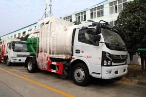 东风凯普特K7国六餐厨式垃圾车图片
