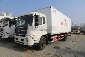 东风天锦VR国六6.58米冷藏车(鸡苗运输车)图片