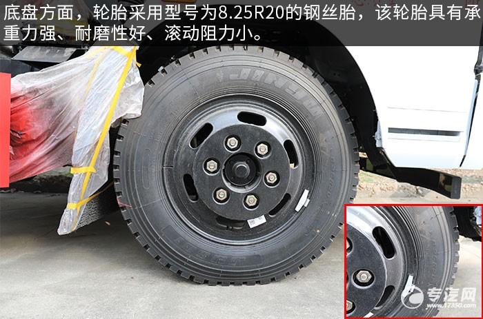 东风福瑞卡国六餐厨式垃圾车轮胎