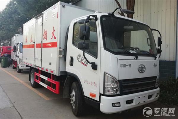 易燃氣體廂式運輸車廂體是怎樣制作的?