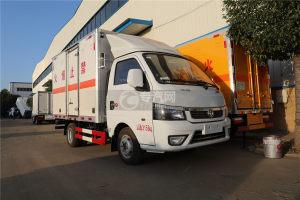 東風途逸國六3米易燃氣體廂式運輸車圖片