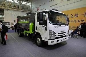 慶鈴五十鈴ELF智能機械臂自裝卸式垃圾車圖片