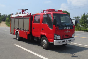 慶鈴五十鈴2方國六泡沫消防車
