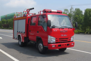 慶鈴五十鈴國六泡沫消防車