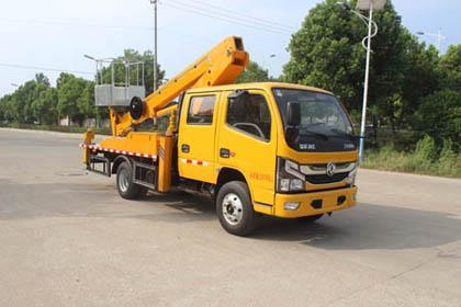 东风凯普特双排国六16米直臂式高空作业车