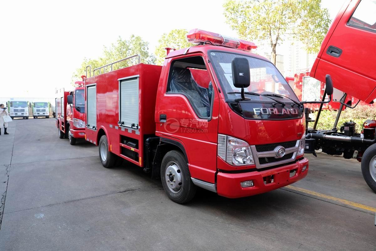 福田时代消防救险车图片