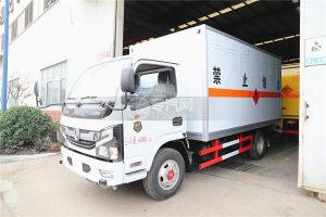 东风凯普特K6国六4.1米易燃气体厢式运输车图片