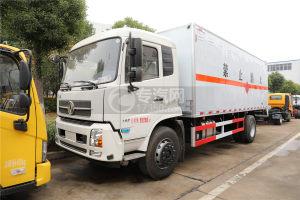 东风天锦国五6.2米易燃气体厢式运输车图片