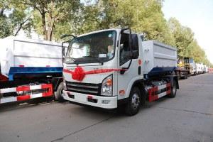 大運新奧普力國六車廂可卸式垃圾車圖片