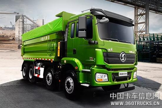 """陕汽重卡丨德龙新M3000标准版自卸车,""""轻""""而易举!"""