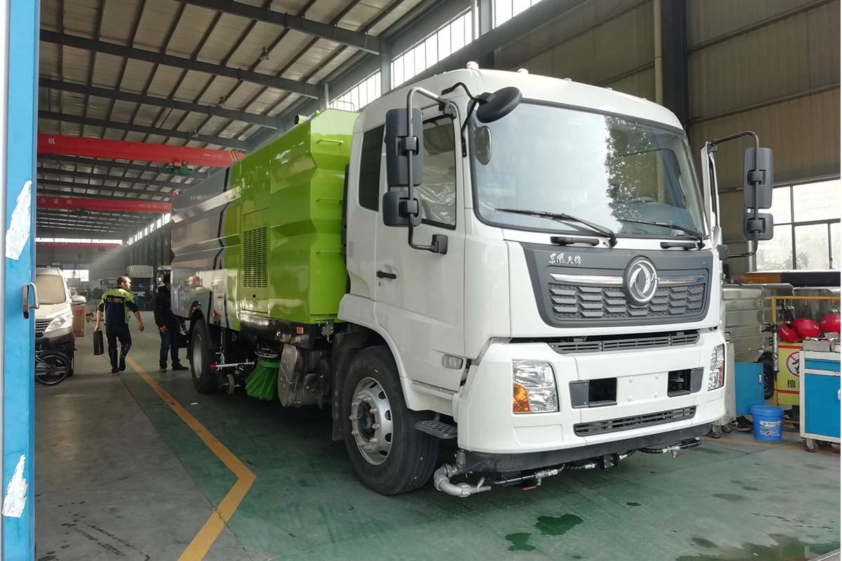 東風天錦VR國六洗掃車圖片