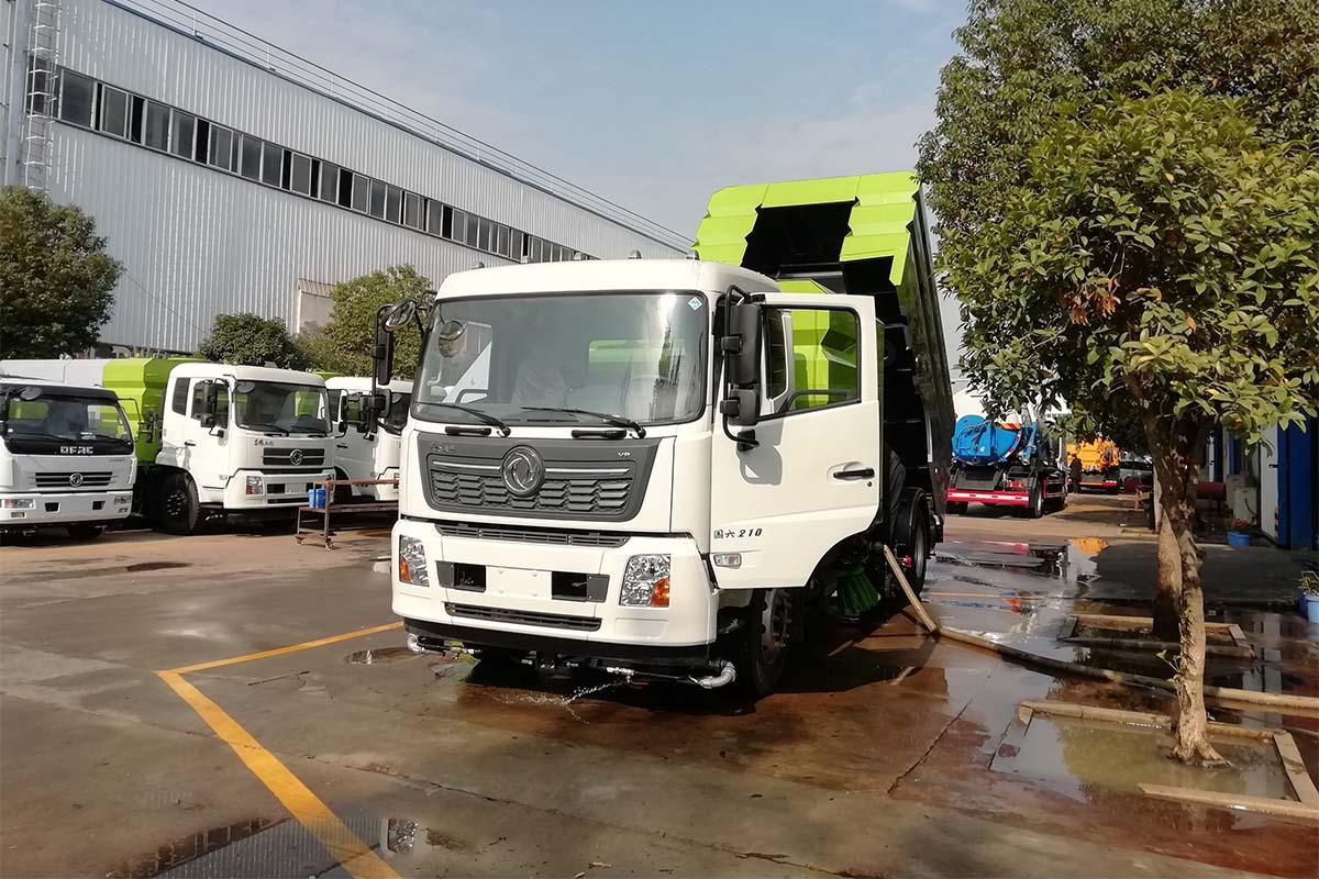 東風天錦VR國六洗掃車右前45度圖