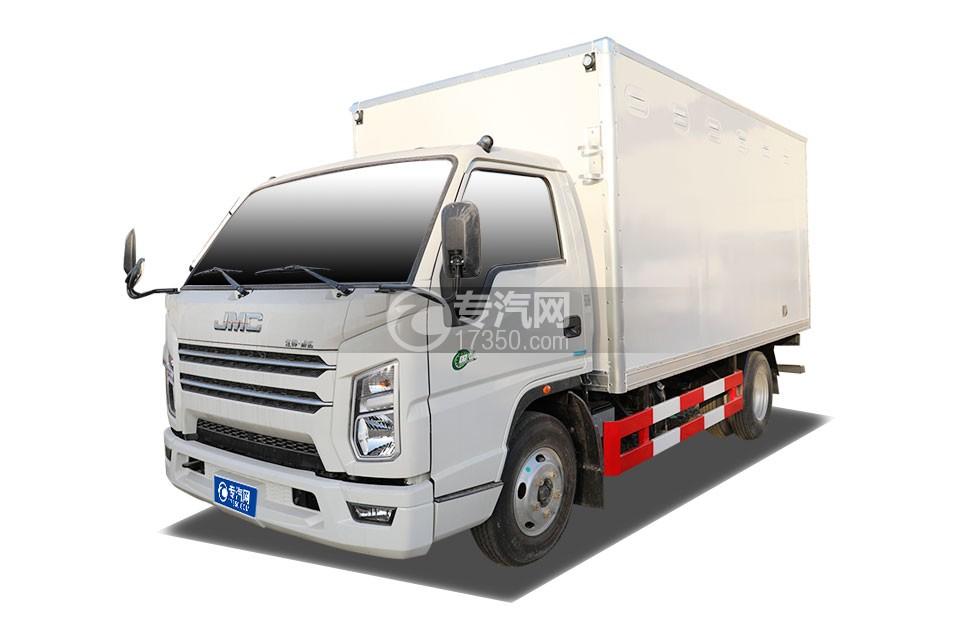 江鈴順達國六藍牌4.15米易燃氣體廂式運輸車