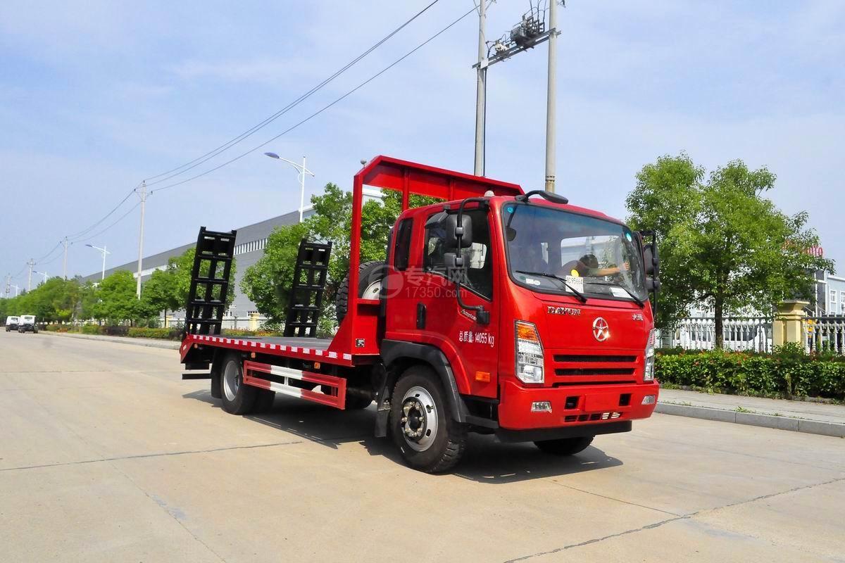大運奧普力4.4米平板運輸車