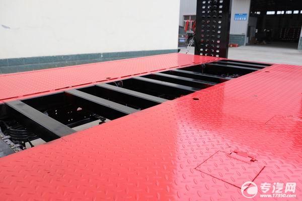 大运奥普力3300轴距平板运输车