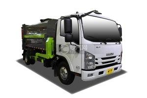 庆铃五十铃ELF智能机械臂自装卸式垃圾车