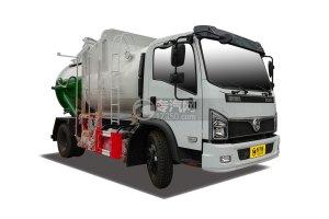 东风福瑞卡国六8方餐厨式垃圾车