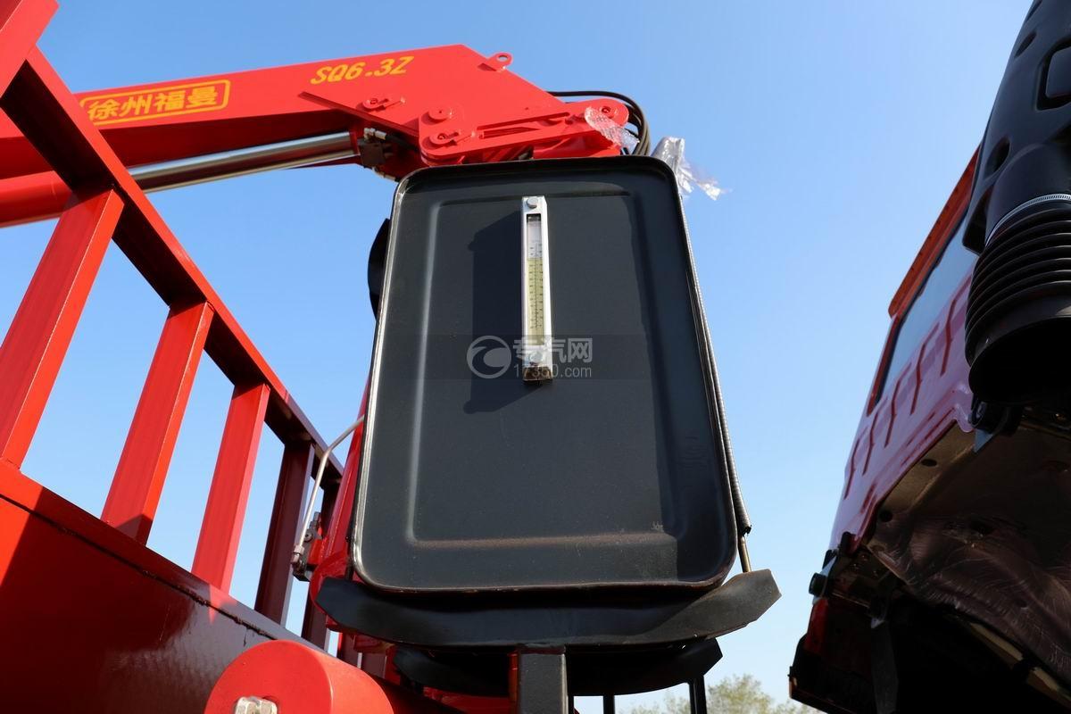 大運風景F6單橋6.3噸折臂隨車吊液壓油箱
