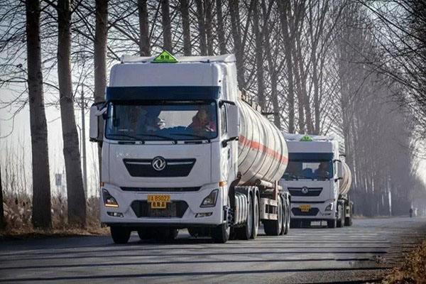 交通部談危化品車輛通行高速公路:限行時間零時到六時之間