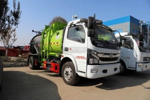东风凯普特K7国六餐厨式垃圾车(罐式)图片