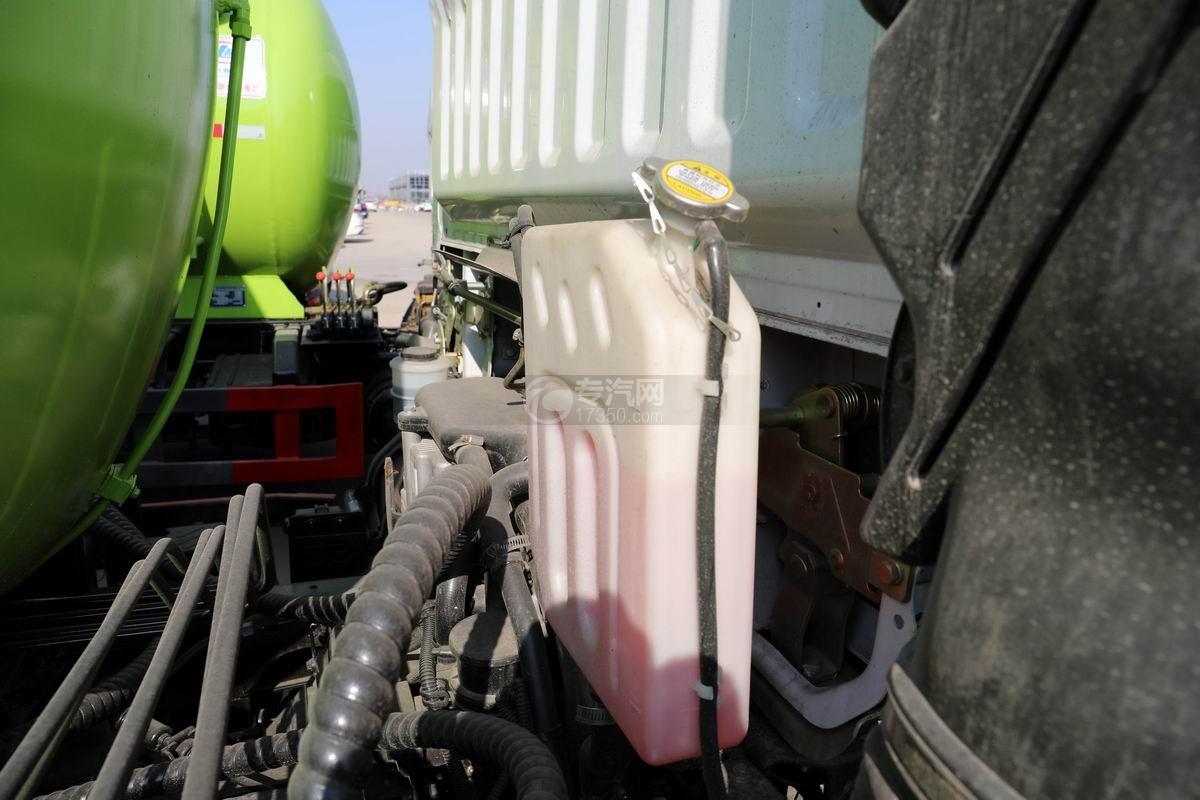 东风凯普特K7国六餐厨式垃圾车(罐式)防冻液