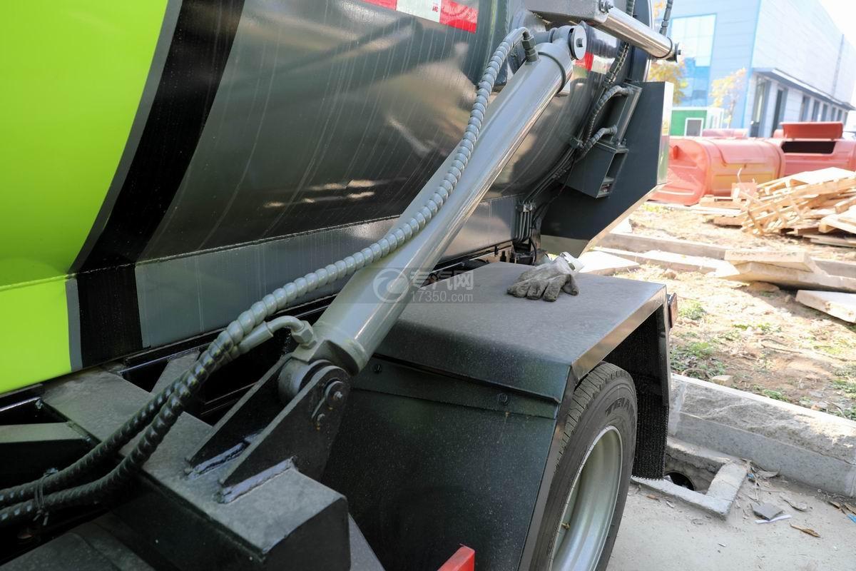 东风凯普特K7国六餐厨式垃圾车(罐式)液压缸