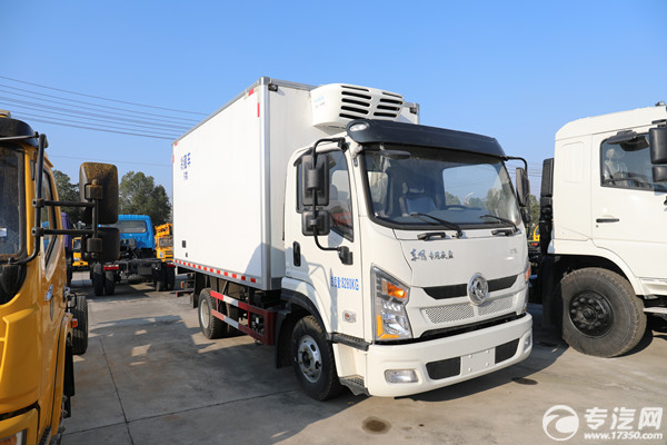 新车型 东风专底畅行D1L国六5米冷藏车厂家已上线