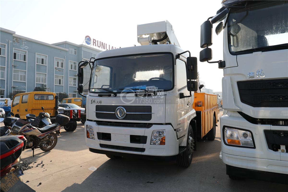 東風天錦國六20米直臂式高空作業車左前圖
