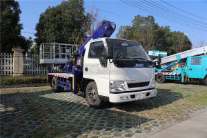 江铃顺达单排国五14米直臂式高空作业车图片