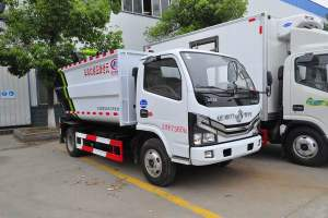 东风国六压缩垃圾车细节展示
