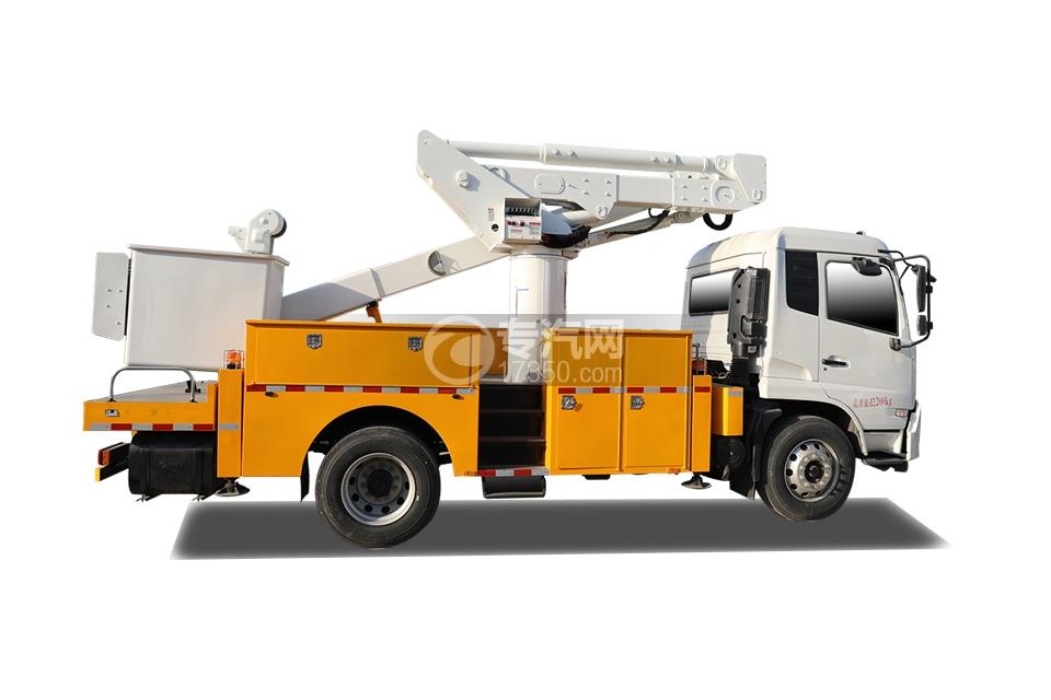 東風天錦國六20米直臂式高空作業車右側圖