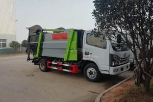东风多利卡D6国六无泄漏压缩式垃圾车图片
