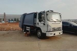 比亚迪T6纯电动压缩式垃圾车图片