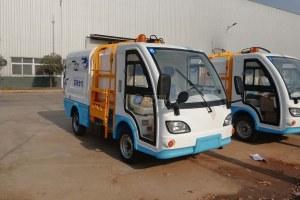 觀光式純電動自裝卸式垃圾車圖片