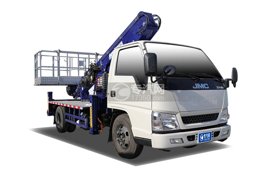 江铃顺达单排国五14米直臂式高空作业车