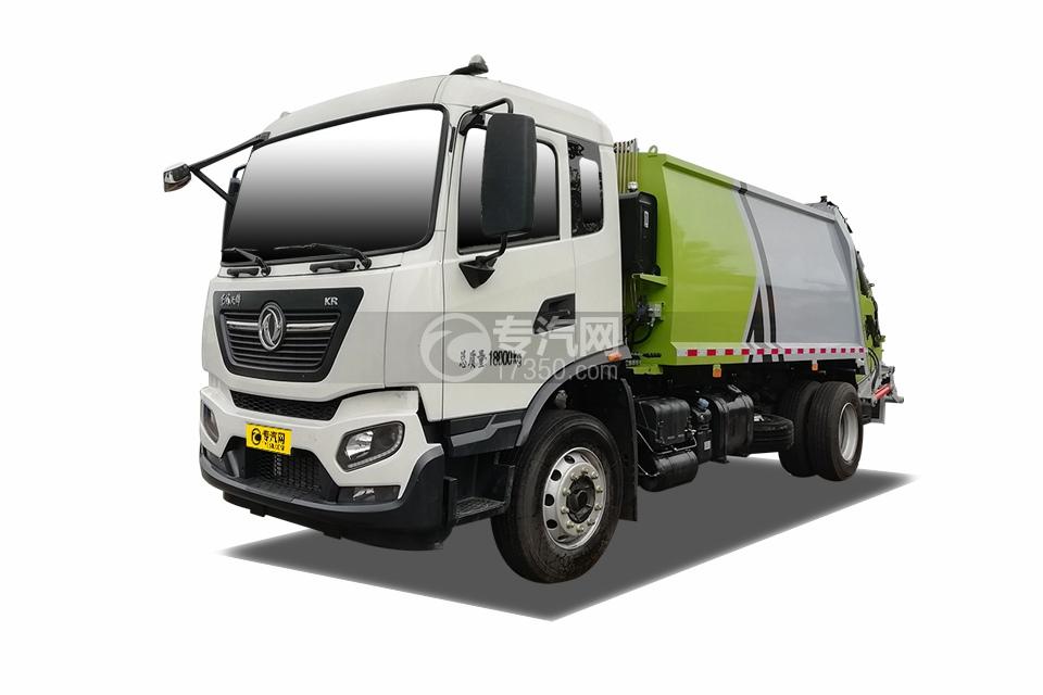国六东风天锦KR单桥压缩式垃圾车