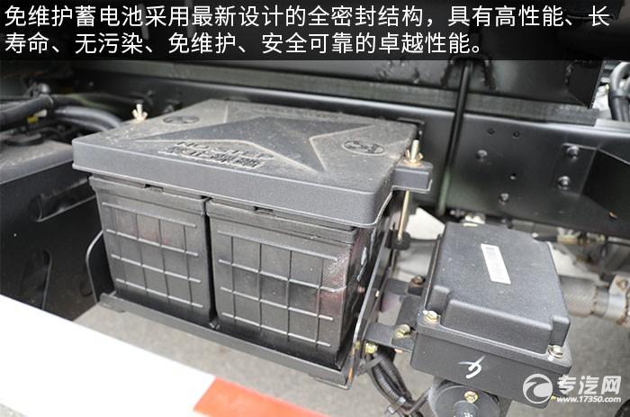 大运新奥普力国六吸粪车评测蓄电池