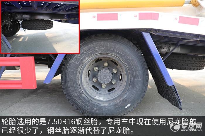 大運奧普力黃牌雙層清障車評測鋼絲胎