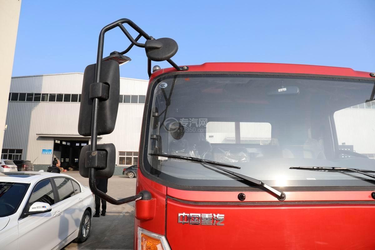 中國重汽藍牌清障平板車后視鏡