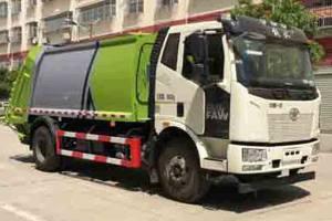 解放J6L国六压缩式垃圾车