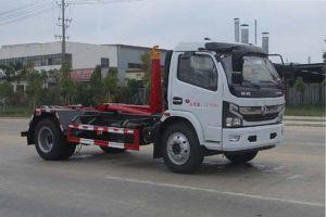 东风多利卡国六车厢可卸式垃圾车