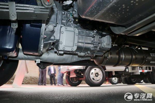 中國重汽王牌牌醒獅系列底盤變速箱