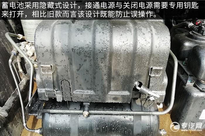 東風天錦KR國六壓縮式垃圾車評測蓄電池