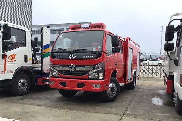 東風凱普特K6國六水罐消防車