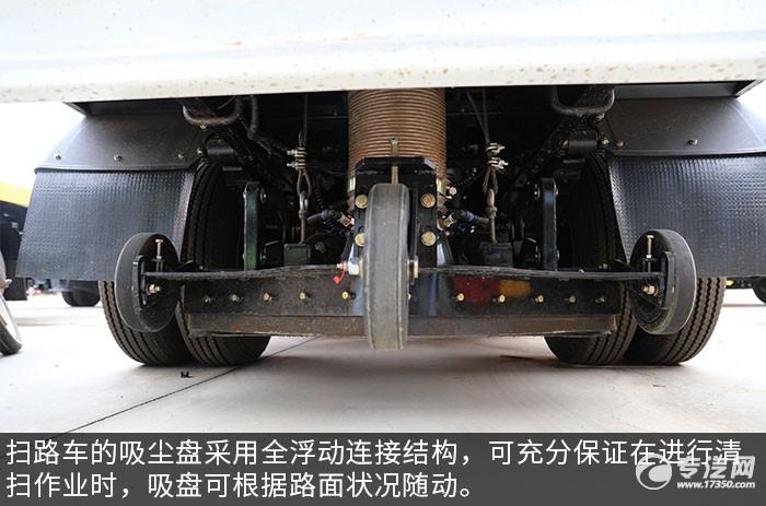 东风多利卡D6国六扫路车评测