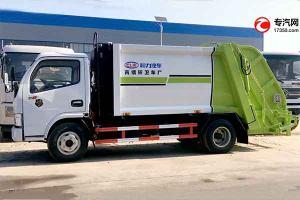 東風多利卡D6壓縮式垃圾車外觀展示