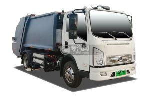 比亚迪T6纯电动压缩式垃圾车