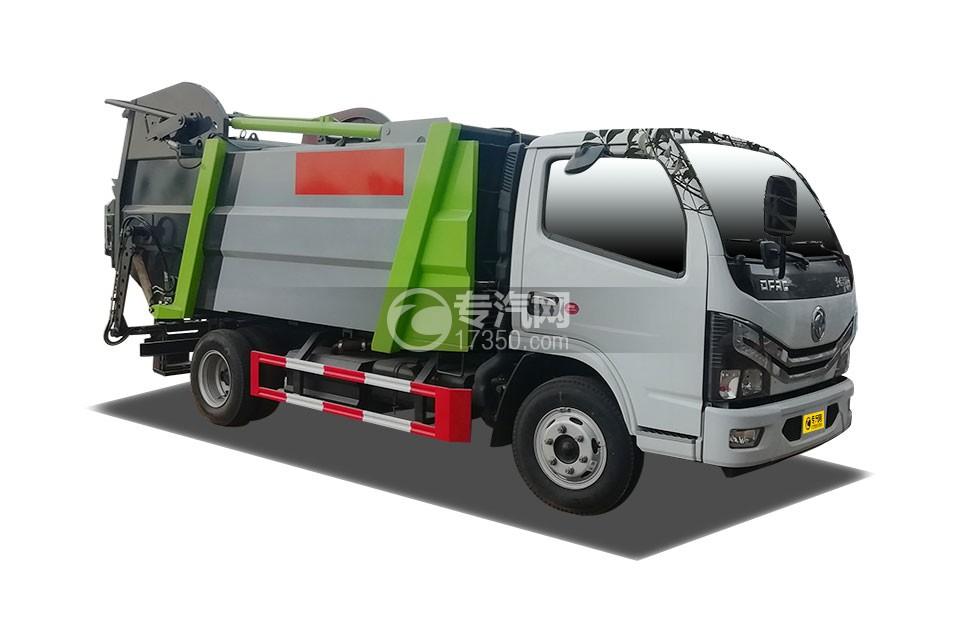 东风多利卡D6国六无泄漏压缩式垃圾车
