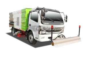 国六东风凯普特K7洗扫车带路面清洗
